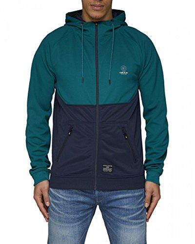 JACK & JONES Herren Kapuzen Sweater 12081456 PRO SWEAT CORE ZIP HOOD
