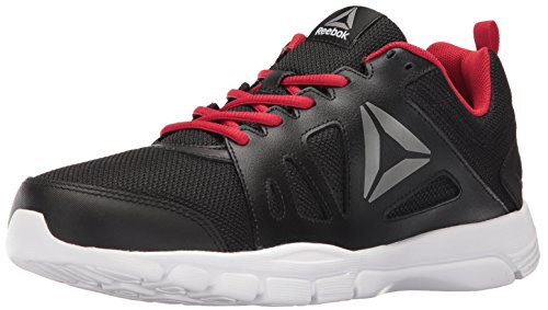 Reebok Men's Trainfusion Nine 2.0 L MT Running Shoe, Black/Excellent Red/Pewter/White  - 9.5 D(M) US