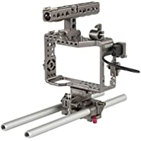 Ikan ES-T17 Sony Alpha Series Handheld Camera Cage Rig for the a7R/a7RII/a7S & a7SII (Black)