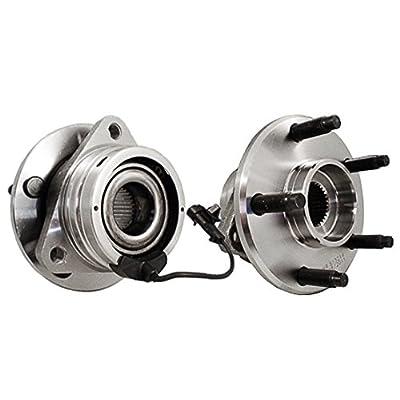 Callahan 513214X2 [2] Pair FRONT Premium Grade [ 5 Lug ABS ] Wheel Hub Bearing Assemblies [ 513214 ]: Automotive