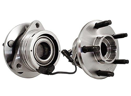 C513214X2 [2] FRONT Premium Grade [ 5 Lug ABS ] Wheel Hub Bearing Assemblies