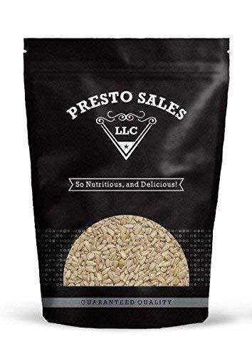 Sunflower Seeds, Raw Shelled (5 lbs.) by Presto Sales LLC by Presto Sales