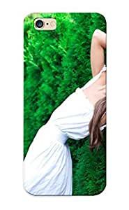 3bafe74774 Anti-scratch Case Cover Walkintherain Protective Models Fashion Style Dress Brunee Pose Face Mood Emotion Bushes Green Plants Trees Grass Sensual Babes Women Females Girls Case For iphone 4s