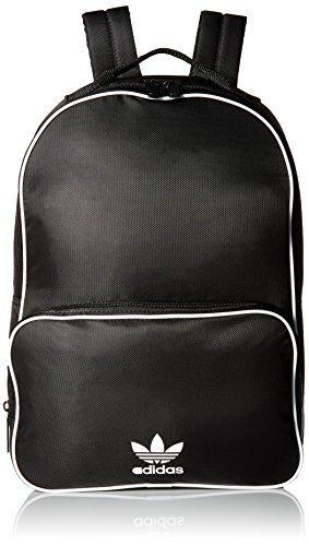 (adidas Originals Santiago Backpack, Black, One Size)