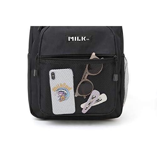 MILKFED. SPECIAL BOOK Big Pocket Backpack BLACK 付録画像