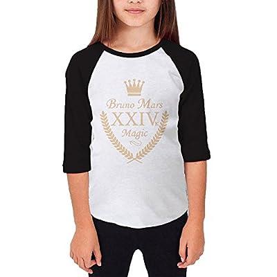 Teen Bruno Mars 24K Magic Album Baseball T Shirt