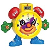 PowerTRC Tell The Time Electronic Learning Teach Time Clock Educational Toy | Education Toy | Learning Clock and Telling…