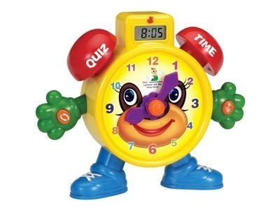 """""""Tell The Time"""" Electronic Learning Teach Time Clock Educational Toy for Kids"""