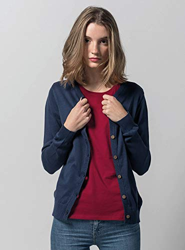 a02544dd1ce26d MELAWEAR Damen Cardigan aus 100% Bio-Baumwolle - Fairtrade