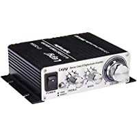 Lepy Amplifiers Audio Component Amplifier, Black (LP-2020A Class-D)