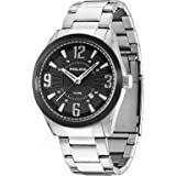 Police Men's Quartz Watch PL.13893JSSB/02M with Metal Strap