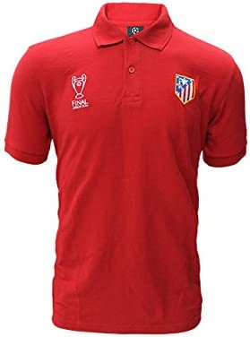 Sin marca Polo Final Champions Atlético de Madrid: Amazon.es ...