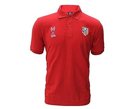 Sin marca Polo Final Champions Atlético de Madrid: Amazon.es ...