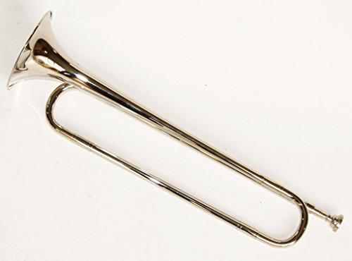 Cherrystone 0754235506454,Bb fanfare horn, cavalry trumpet, silver