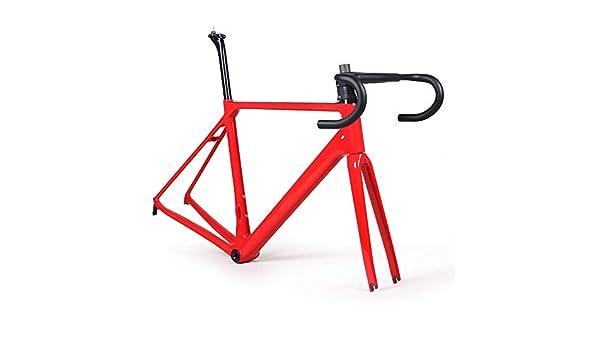 Bicicleta de carretera de fibra de carbono Cuadro Abrazadera de ...