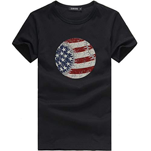 Respctful✿American Flag Short Sleeve Top Women USA Vintage