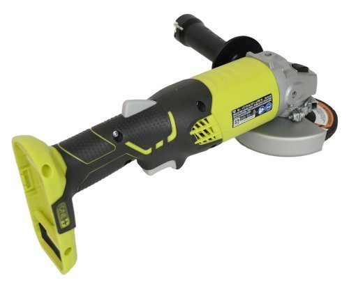 (Ryobi P421 6500 RPM 4 1/2 Inch 18-Volt One+ Lithium Ion-Powered Angle Grinder (Battery Not Included, Power Tool Only))