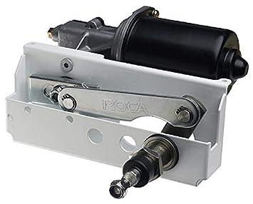 MarinersWarehouse Roca W25 Motor limpiaparabrisas, 12 V, 25 NM, 28 mm Montaje de mamparo (RC531015): Amazon.es: Deportes y aire libre