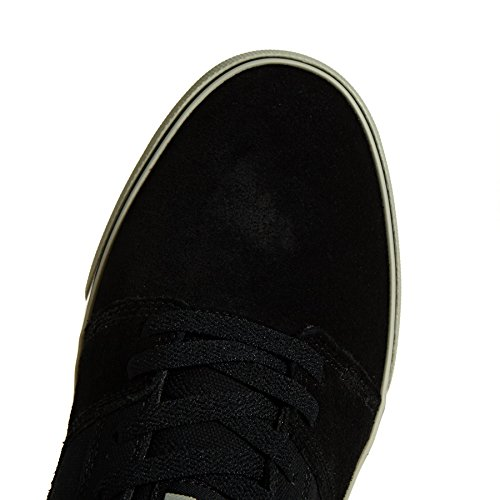 DC Shoes Tonik Shoe d0302905–Scarpe in Pelle Scamosciata per Uomo Nero/Antracite