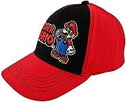 Nintendo Gorra de béisbol para niños de 4 a 7 años, Super Mario Kids Gorra de béisbol para Niños