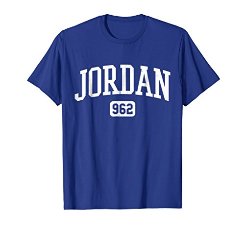 Mens 962 Country Area Code Jordan Jordanian Pride T-Shirt Medium Royal Blue by Country Area Code Jordan Jordanian LLC