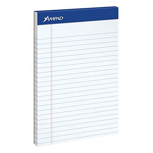 Ampad Jr. Notepad, College/Medium Ruled, - Jr Legal Ruled 50 Sheet Shopping Results