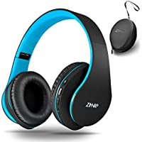 Wireless Over-Ear Headset with Deep Bass, Bluetooth and...