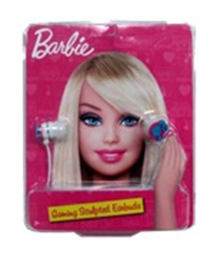 Barbie Silhouette Earbuds w/ MIC - Pink (11259)