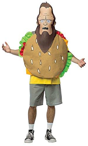 Rasta Imposta Men's Funny Bob's Burgers Beefsquatch Mask Halloween Costume Accessory]()