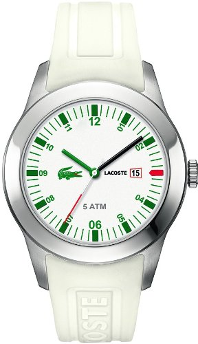 Lacoste Advantage (Lacoste Advantage White Silicone Mens Watch 2010627)