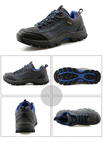 Cross Country Waterproof Shoes Grey Unisex Boot Hiking Breathable ANBOVER qRTwXnS