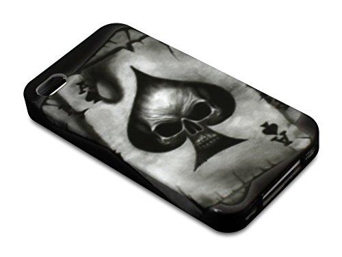 Sandberg Print Cover iPhone 4/4S Skull of Aces