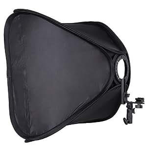 """FOTGA 60cm 24"""" Portable Hot Shoe Softbox Soft Box for Flash Speedlite Photo Shooting"""