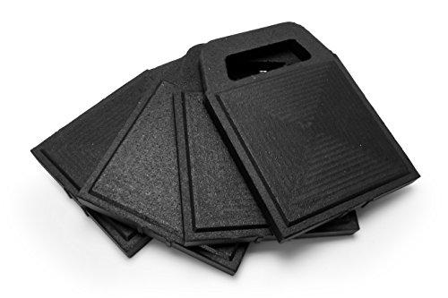 Camco 44591 Stabilizer Jack Flex Pad,4 Pack