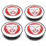 Jaguar Alloy Wheel Centre Caps Badges / Nabendeckel