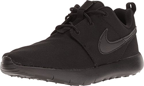 Nike Boy's Roshe One Sneaker (PS) Black/Black-Black Size 1Y