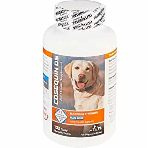 Cosequin Maximum Strength Joint Supplement Plus MSM - With Glucosamine and Chondroitin - For Dogs of All Sizes 8