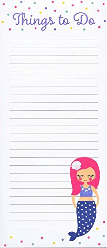 Graphique Mermaid Things To Do Extra Long Magnetic Notepad (Long Notepad)