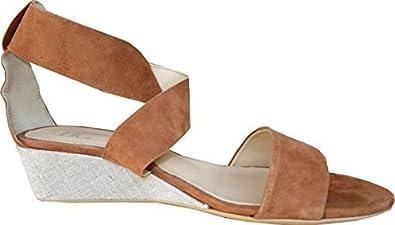 Sandalette von Best Connections Ziegenveloursleder - Cognac Gr. 42 8a4bTYym0Y
