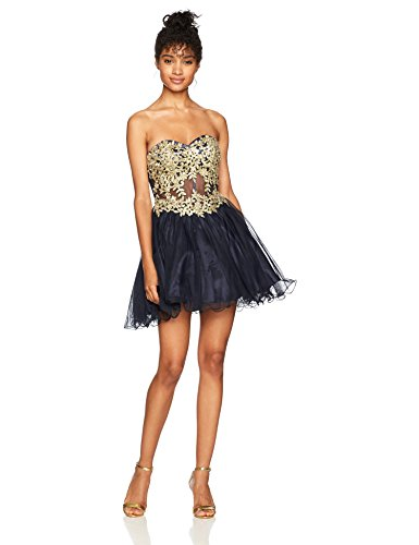 Blondie Nites Junior's 156561, Navy/Gold, 1