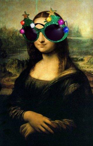 Weihnachten Brille Sonnenbrille Apres ski Party Scherzartikel Weihnachtsfeier
