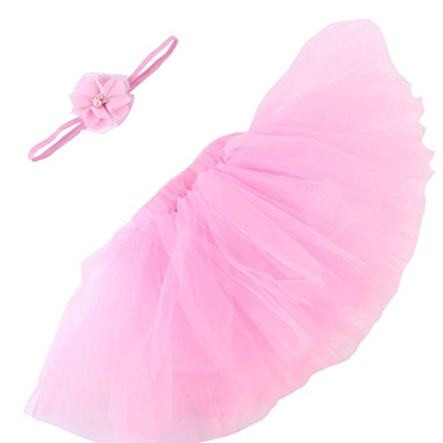 Plus Size Combat Girl Costumes (YJM Cute Newborn Baby Girls Boys Costume Photography Prop Clothes (Pink))