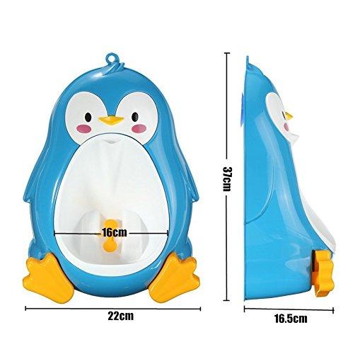 Coscelia Urinario Groove PP Pingüino de Niños /Bebé de Rana de Vertical-Ayudante de Mamá (#1)