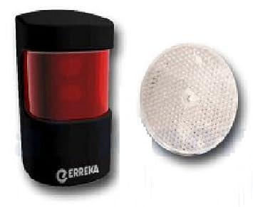 ERREKA FT02 CLASS 2 Fotocélula Laser AUTOMATISMOS GARAJES: Amazon.es: Electrónica