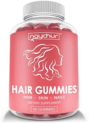 Hair Growth Vitamins Biotin Gummies - Hair Skin and Nails Vitamins for Faster Hair Growth - Hair Loss Treatments Care Thickening Products for Women Men - Thinning Hair Beard Regrowth Supplement Gummy