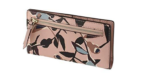 Kate Spade New York Cameron Large Slim Bifold Wallet (Pink Multi)