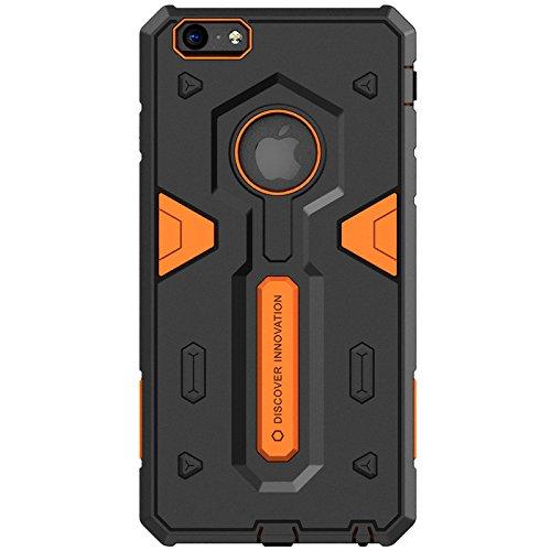 Apple iPhone 6Plus Shockproof Case Cover, Nillkin Defender 2conque Rückdeckel Schutzhülle für Apple iPhone 6Plus 5.5, orange