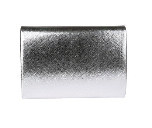 unique pour Pochette silvery2 Aronvivi silvery2 taille femme qX8aZ