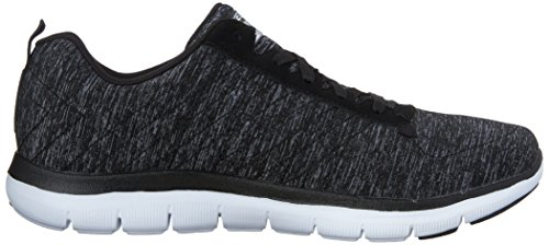 Outdoor Black Nero Skechers Donna Flex Appeal White Scarpe 0 2 Sportive nOZYOqPz