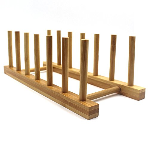 Bamboo Kitchen Drainer Storage Organizer product image